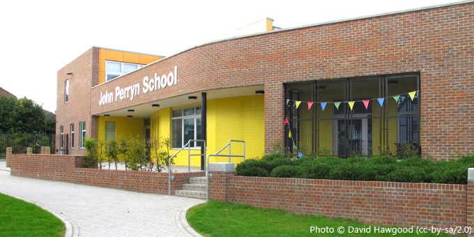 John Perryn Primary School, London W3