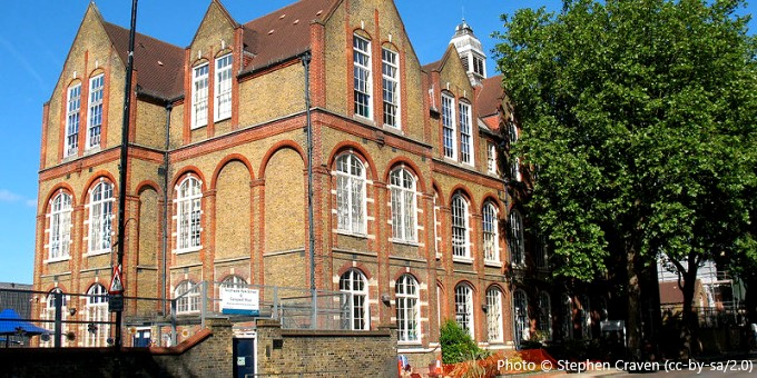 Southwark Park Primary School, London SE16