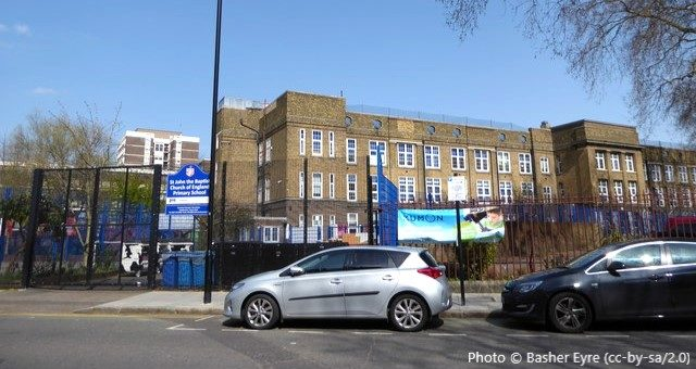 St John The Baptist VA CofE Primary School, London N1