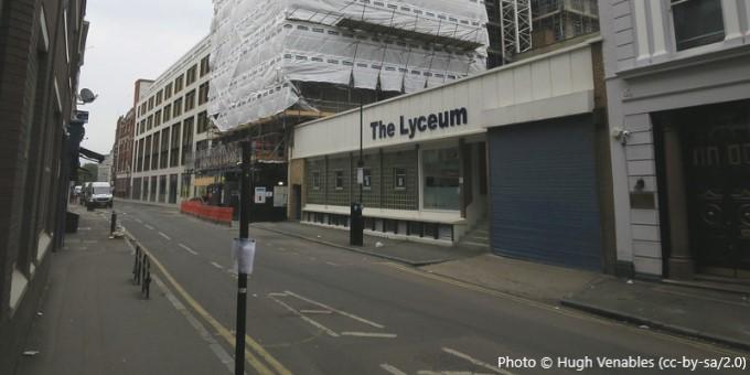 The Lyceum, London EC2A