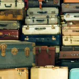 Image of stacked suitcases for the Who sends their child to Boarding School? post