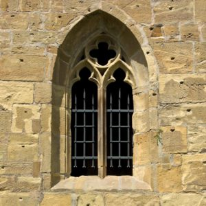 Image of a gothic window for the How religious are faith schools? post