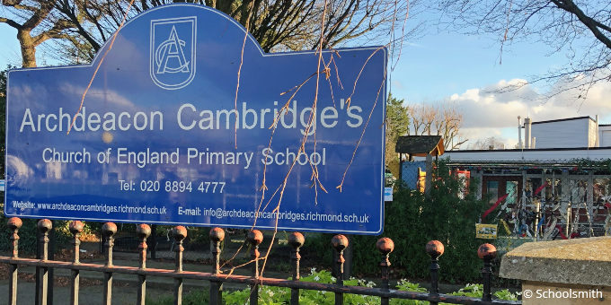 Archdeacon Cambridge's Church of England Primary School