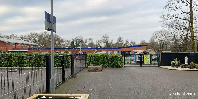 Our Lady of the Rosary Catholic Primary School, Davyhulme M41