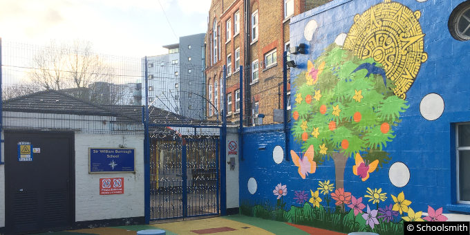 Sir William Burrough Primary School, Limehouse, London E14