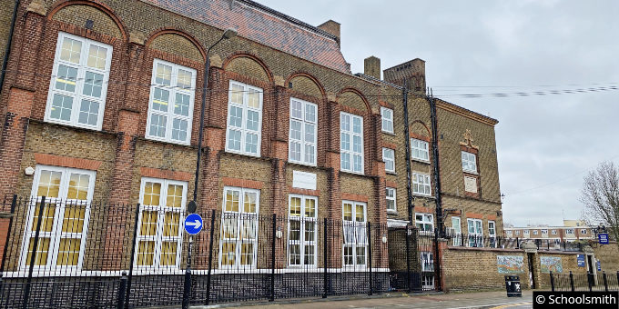 Smithy Street School, Stepney, London E1
