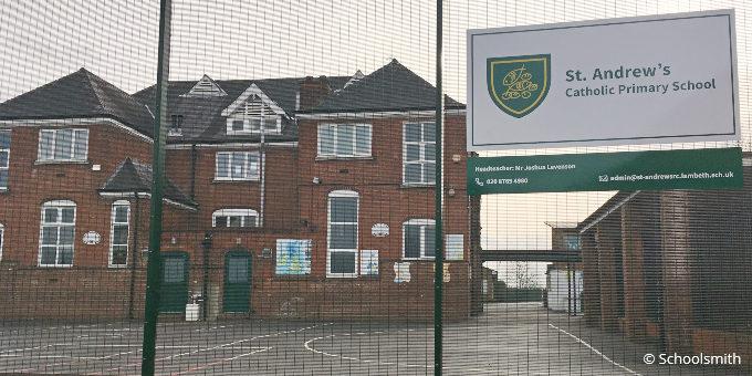 St Andrew's Catholic Primary School, Streatham, London SW16