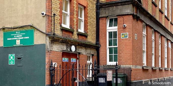 St Joseph's Primary School, Covent Garden, London WC2B