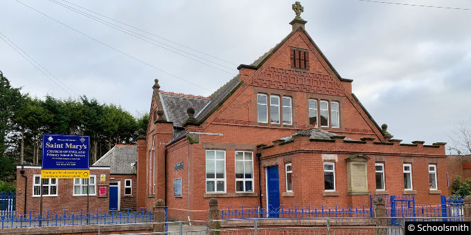 St Mary's Church of England Primary School, Sale M33