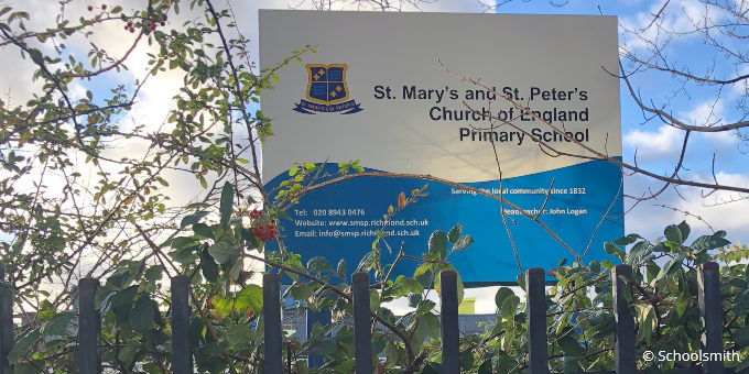 St Mary's and St Peter's Church of England Primary School