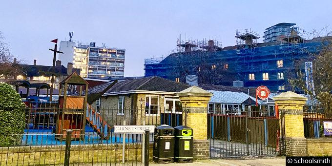 St Peter's London Docks Church of England Primary School