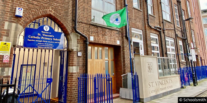 St Vincent's Catholic Primary School, Marylebone, London W1U
