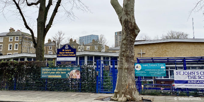 St John's Upper Holloway Church of England Primary School, N19