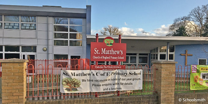 St Matthew's Church of England Primary School, Surbiton KT6