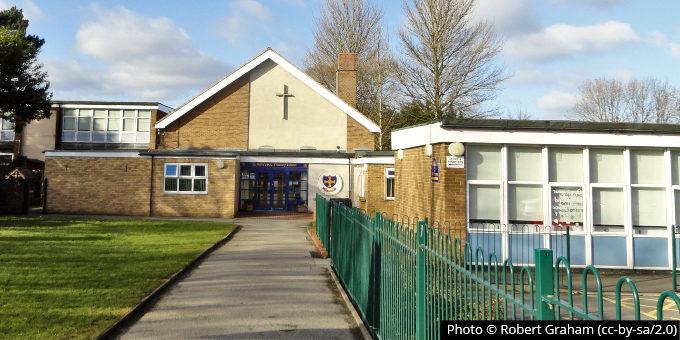 St Anne's catholic primary school, Hylton Road, Pennywell, NZ3556