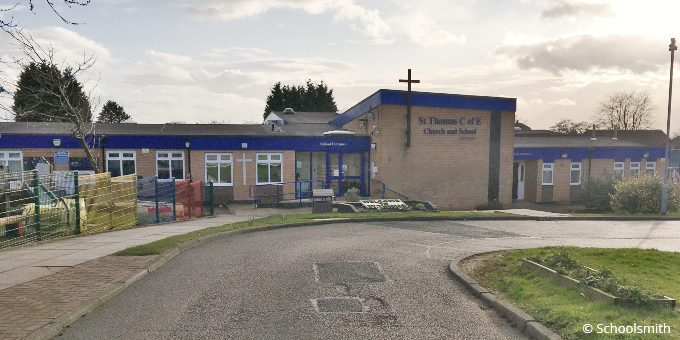 St Thomas Church of England Primary School, Westhoughton BL5