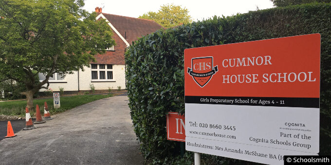 Cumnor House School for Girls, Purley CR8