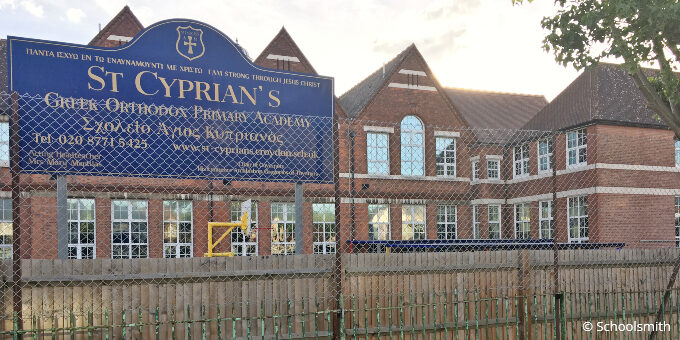 St Cyprian's Greek Orthodox Primary Academy, Thornton Heath