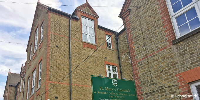 St Mary's Catholic Primary School, Chiswick, London W4