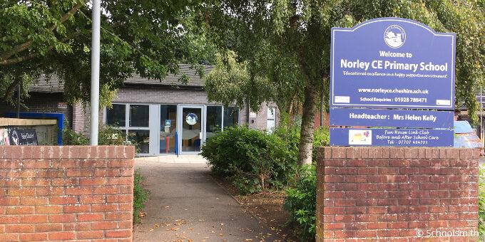 Norley Church of England Primary School, Frodsham WA6