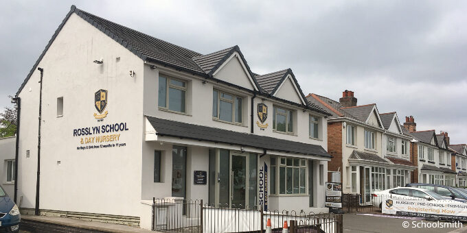 Rosslyn School, Hall Green