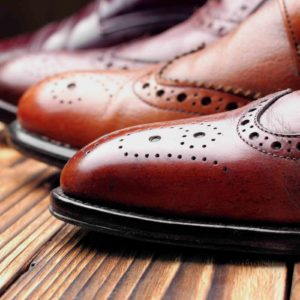 Image of brown brogues for the What does a Headteacher do? post