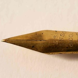 Image of a pen nib for the A Short History of Education in England post