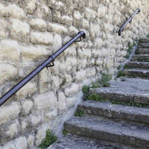 Image of a flight of steps and railing for the Special Educational Needs provision in mainstream schools post