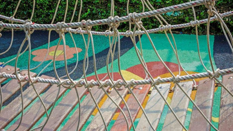 Image of a playground for the School nursery, day nursery, pre-school or other childcare? post