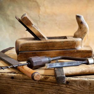 Image of old woodwork tools for the Subject specialist teaching post
