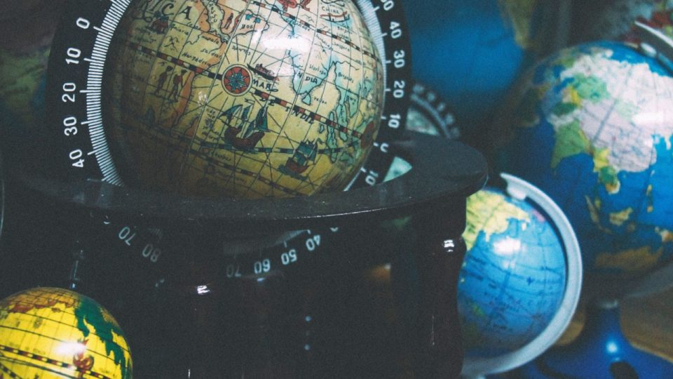 Image of several globes for the School academic facilities post